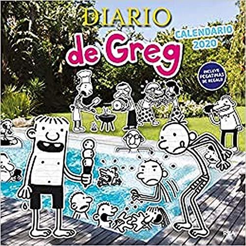 Calendario de Greg 2020 (DIARIO DE GREG)