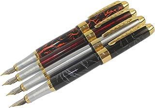 WZCUICAN Metal Black Color Golden M Nib Gift Fountain Pen