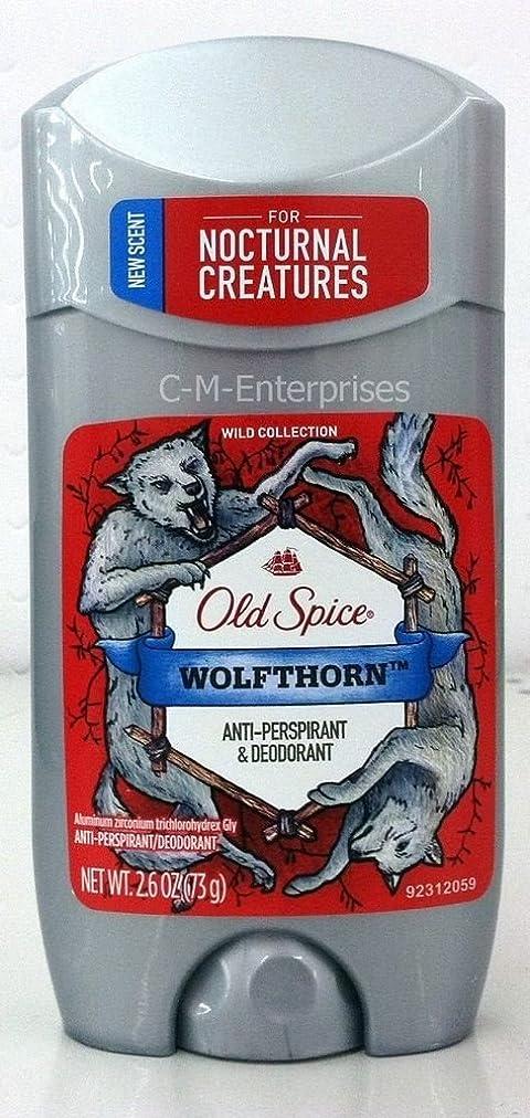 スピン放棄されたキネマティクス【アメリカ直送】オールドスパイス デオドラントスティック ウルフソーン 73g Old Spice WOLFTHORN Anti-Perspirant & Deodrant (0.26oz)
