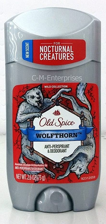 したい台風熟練した【アメリカ直送】オールドスパイス デオドラントスティック ウルフソーン 73g Old Spice WOLFTHORN Anti-Perspirant & Deodrant (0.26oz)