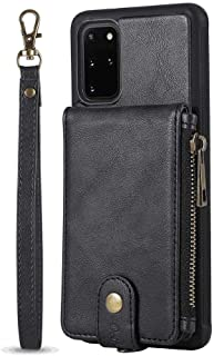 Simple Flip Case Fit for iPhone 11 Pro Max, black Leather Cover Wallet for iPhone 11 Pro Max