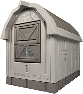 ASL Solutions Deluxe Insulated Dog Palace with Floor Heater