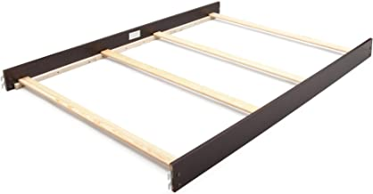 Full Size Conversion Kit Bed Rails for Sorelle Verona 4-in-1 Cribs - Espresso