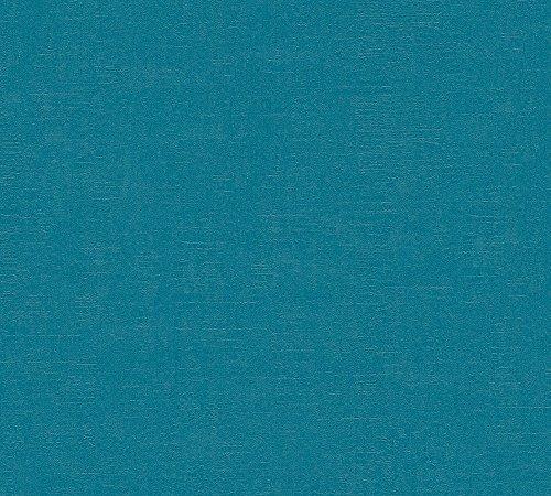Livingwalls Vliestapete Titanium 2 Tapete Uni 10,05 m x 0,53 m blau Made in Germany 359991 35999-1