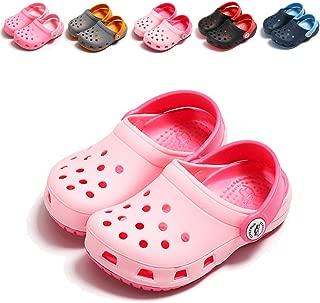 BEBARFER Toddler Kids' Boys Girls Classic Clogs Slip On Garden Water Shoes Lightweight Summer Slippers Pool Beach Sandals