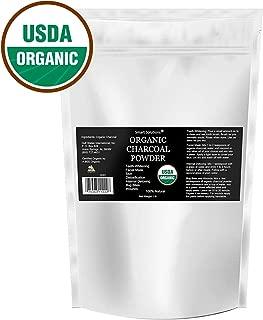 Organic Charcoal Powder, 1 lb - The Only USDA Certified Organic. Bulk Food Grade Powder, Non-GMO, Vegan, No Fillers 100% Pure Use for teeth Whitening Facial Masks Detoxing
