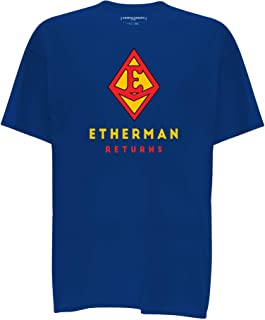 Cointelegraph Etherman Crypto T-Shirt Unisex | Cryptocurrency Blockchain