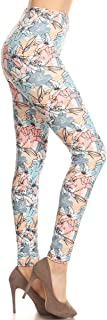 Women's Ultra Buttery Soft Print Fashion Leggings Batch6