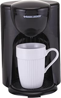 Black & Decker DCM25 1 Cup Coffee Maker, Black, 220V (Not for USA)