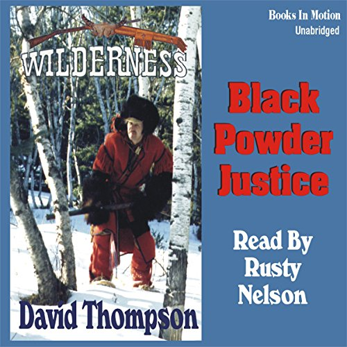 Black Powder Justice audiobook cover art