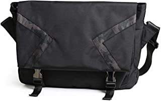 LZRDZSWYXGS Men's Dark Nylon Messenger Bag Girls Trend Camouflage Messenger Bag Outside Riding Shoulder Solidus Cross Bag Dead Fly Bag Black Suitable for outings/Hiking/Schools