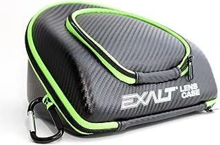 Exalt Paintball Carbon Series Lens Case - Black/Lime
