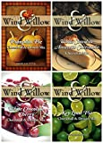 Wind & Willow Sweet Cheeseball and Dessert Mix Bundle (4 Pack): White Chocolate Amaretto Cheesecake, Key Lime Pie, White Chocolate Cherry, and Pumpkin Pie