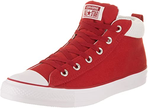 Converse Unisexe Chuck Taylor All Star rue Mid Chaussure Décontractée