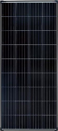enjoy solar Pannello solare monocristallino 180W 12V con tecnologia a celle PERC