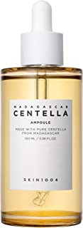 SKIN1004 Madagascar Centella Asiatica 100 Ampoule (100ml, 3.38 Fl. Oz.) - Facial Serum - 100% Centella Asiatica Extract - for soothing sensitive and acne-prone skin
