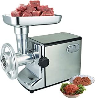 ZFDMDD Electric meat grinder, 3000W sausage machine, three sharpening pieces and accessories Kubbe sausage making accessor...