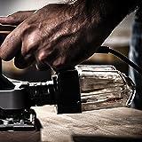 Worx WX642 Schwingschleifer 270 W – Handlicher Schleifer mit Zyklontechnologie für ein sauberes Arbeiten – Großer Schwingkreis & einfache Bedienung - 7