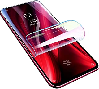 【2 Pack】 Hydrogel Film Screen Protector Compatible with Xiaomi Poco F2 Pro/Redmi K30 Pro, 【Full Coverage】 Transparent Soft...