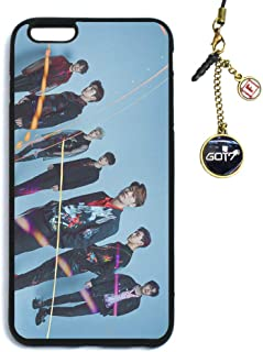 Fanstown Kpop GOT7 Phone case Spinning TOP: Between Security & Insecurity + Album Logo Pendant (I01)
