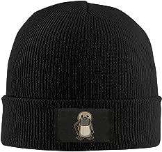 NW Platypus Top Level Beanie Herren Damen - Unisex Stylish Slouch Beanie Hats Grey