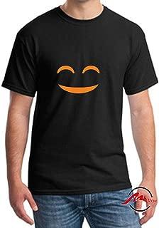 Halloween Pumpkin Monster Face Fashion Cotton Tee Unisex Adult Youth Tshirt