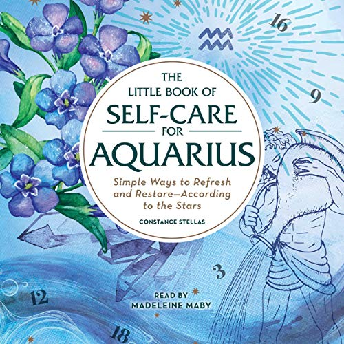 The Little Book of Self-Care for Aquarius cover art