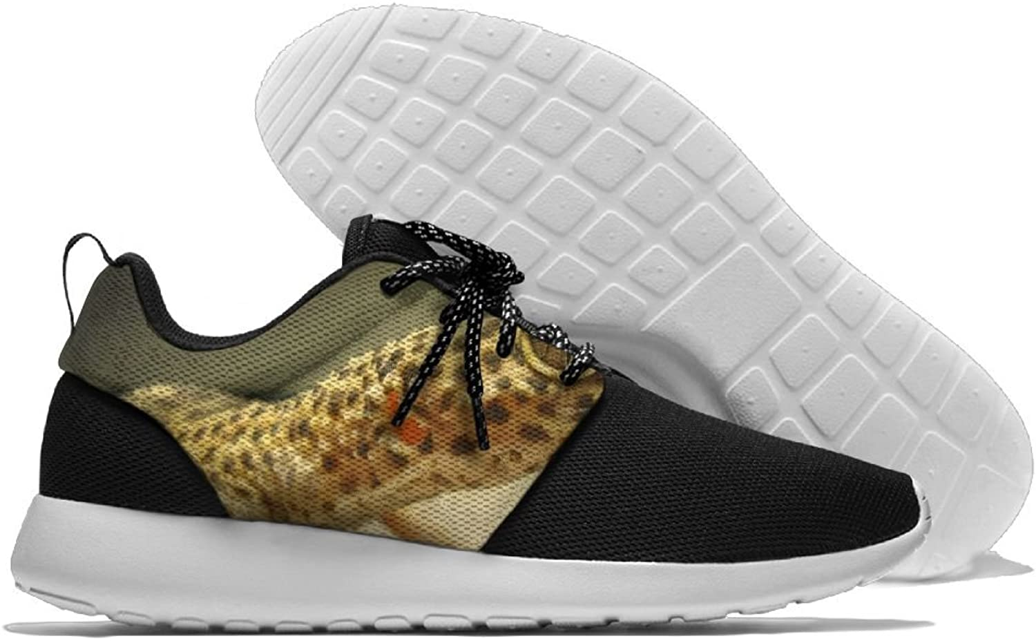 Sneakers Casual Running shoes Leopard Gecko Lightweight Breathable Mesh Walking Men Women shoes For Sports Athletic Gym Travel