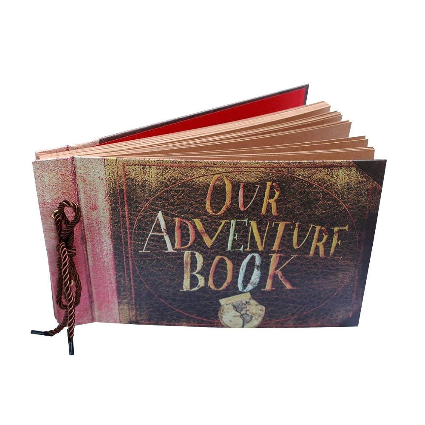 DIY Family Scrapbook Photo Album Our Adventure Book Handmade Wedding Photo Album