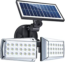 Solar Lights Outdoor, ErayLife Solar Powered Motion Sensor Light, 42LED Solar Security Lights Waterproof, Adjustable Angle...