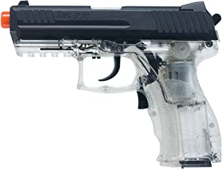 HK Heckler & Koch P30 Electric Blowback 6mm BB Pistol Airsoft Gun, Clear