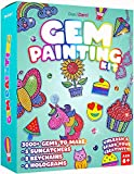 Gem Diamond Painting Kit for Kids - Arts and Crafts for Girls & Boys Ages 6-12 - Craft Kits Art Set - Supplies for Painting - Best Tween Paint Gift, Ideas for Kids Activities Age 4 5 6 7 8 9 10