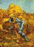 DIY-Pintura Digital Réplicas de la Famosa Serie de Pinturas 35 de Van Gogh Punto de Cruz Digital Set DIY Salón Decoración Hogar Pintura Regalos para niños y Adultos