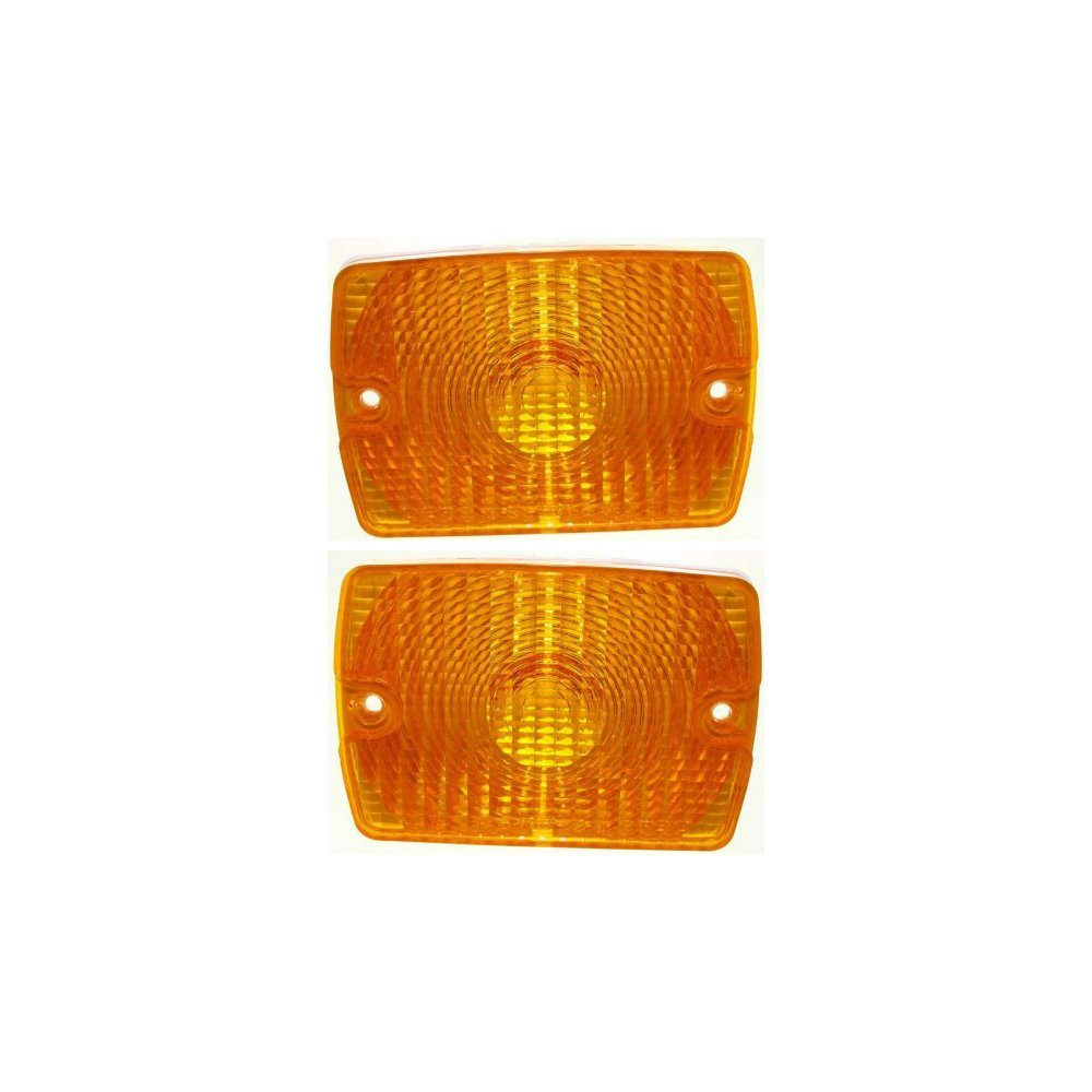 Jeep Clear Lens Turn Signal Lamp Light Blinker Assembly Pair Set LH+RH
