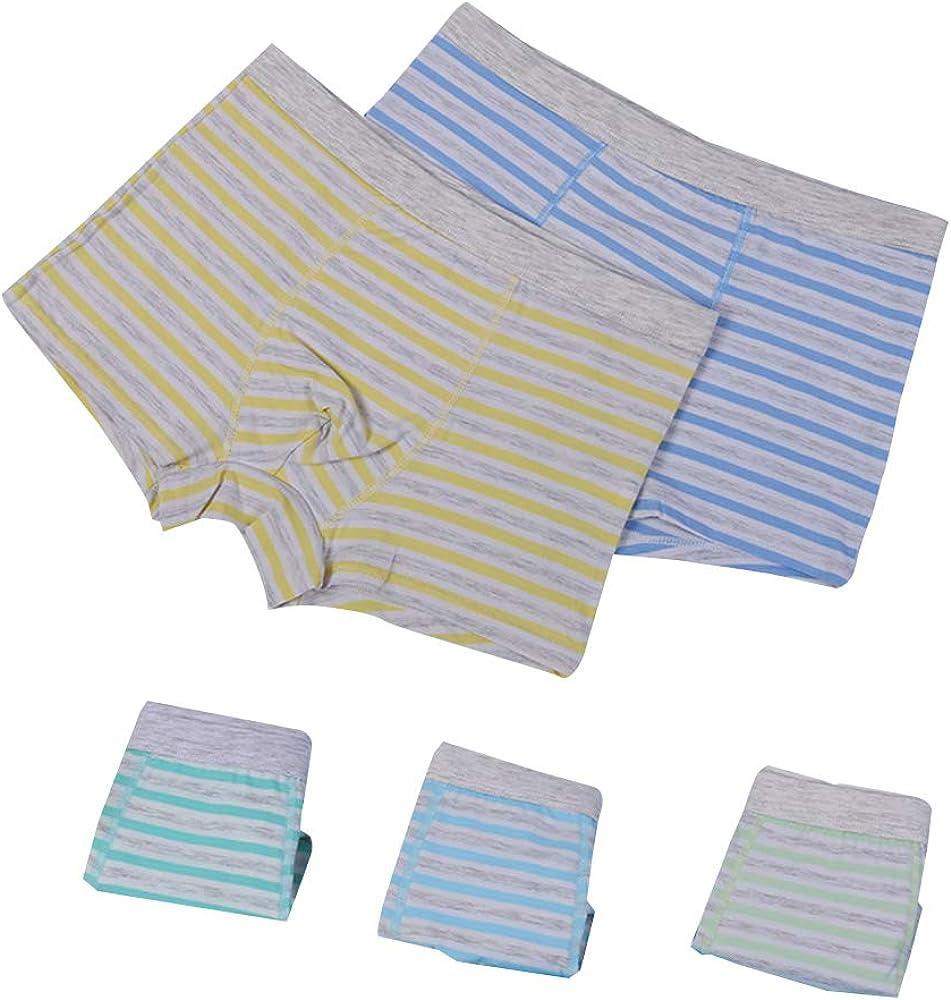 ZEVONDA 5Pcs Children's Cotton Training Pants Briefs Underwear Aged 9-14 Years