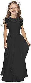formal dresses for 12 year olds black