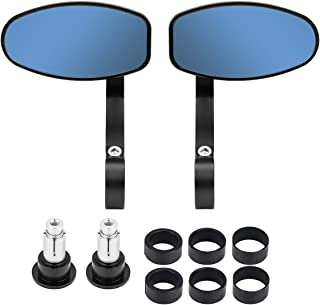 oval bar end mirrors