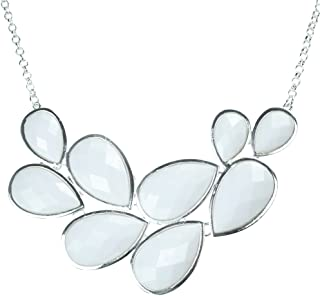 Best chunky white bead necklace Reviews