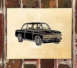 KillerBeeMoto Limited Print: Vintage German Engineered High-Performance Car Print