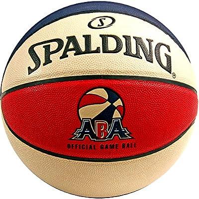 74-248 Spalding ABA Official Game Basketball Ball