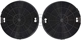 2 filtros de carbón DL-pro para campana extractora Whirlpool Bauknecht 481249038013 AMC912 AEG Electrolux 9029793586 tipo 29