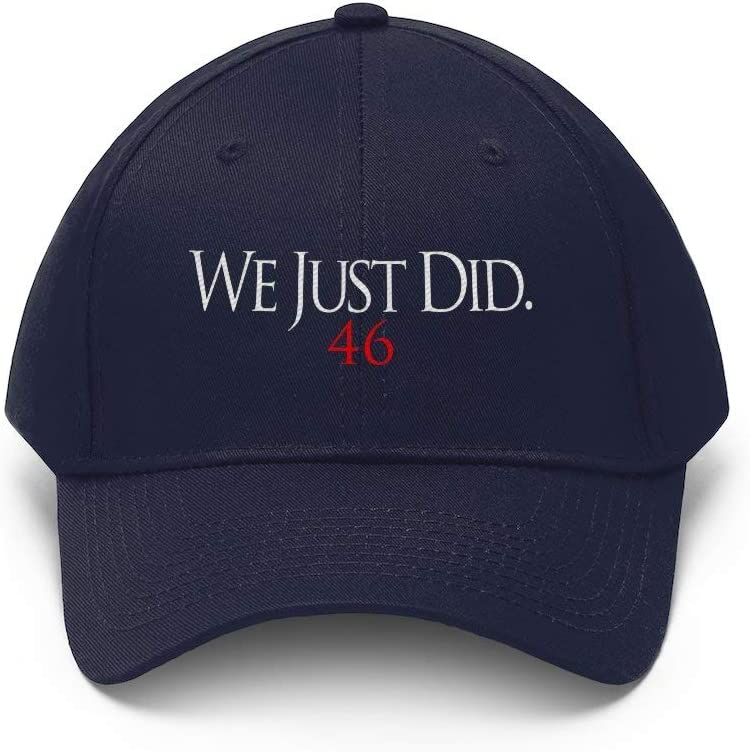 Bingeprints We Just Did 46 Biden 2020 President Elect Unisex Hat