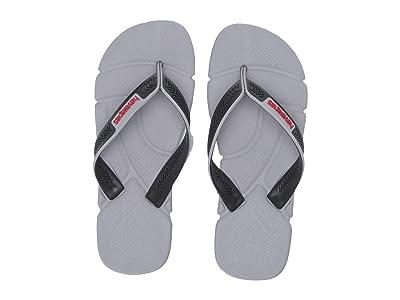 Havaianas Power Flip Flops (Ice Grey) Men