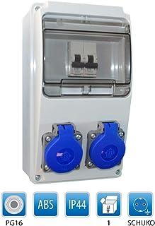 Baustromverteiler/Wandverteiler 2 x Schuko 230V/16A verdrahtet  LEGRAND LS