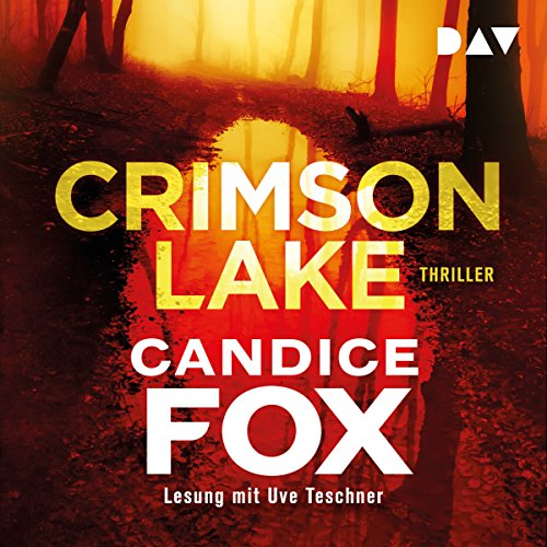 Page de couverture de Crimson Lake [German language]