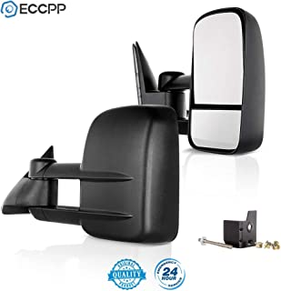 CIPA 70511 Extendable Replacement Electric Heated Towing Mirror fits 1988-2000 CK Chevy//GMC Pickup Left Hand Side Cipa USA
