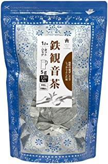 Tokyo Tea Trading 鉄観音茶 中国茶 烏龍茶 台湾茶 ジャグ&ポット用 水出し可 ティーバッグ 5g×120P【お得用 まとめ買い 業務用】