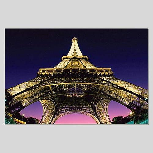 hasta un 70% de descuento Pintado A Mano Mano Mano Moderno Torre Tridimensional Pintura Al óleo Salón Dormitorio Hotel Decoración Pintura  tienda