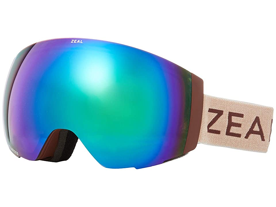 Zeal Optics Portal (Maroon Bells w/ Polarized Jade Mirror + Sky Blue Mirror) Snow Goggles