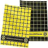 BVB 09 Borussia Dortmund Geschirrhandtuch 2erSet Geschirrhandtücher Emblem Towel